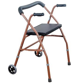 TOPLIFEE Andador para Ancianos | Plegable | Fácil Uso Y ...
