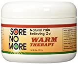 Sore No More Natural Pain Relieving Gel - 8 oz Warm