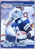1990 Pro Set Football #685 Emmitt Smith RC - Dallas Cowboys - Rookie Card