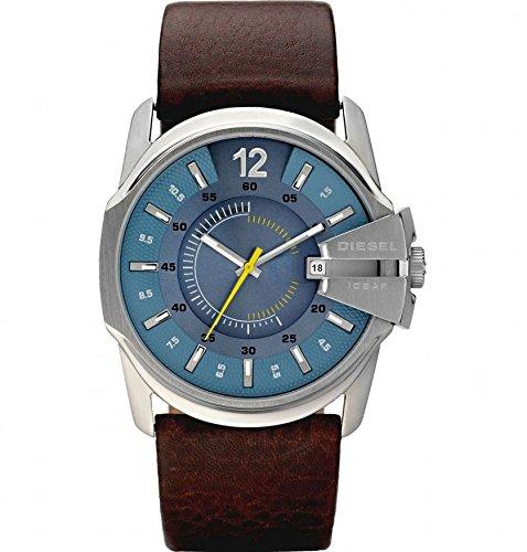 Diesel Reloj Análogo clásico para Hombre de Cuarzo con Correa en Cuero DZ1399: Amazon.es: Relojes