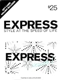 Express Holiday $25 Gift Card