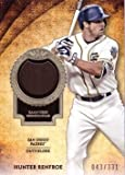 2017 Topps Tier One Relics #T1R-HR Hunter Renfroe Game Worn San Diego Padres Jersey Baseball Card from Rookie Season - Only 331 made!