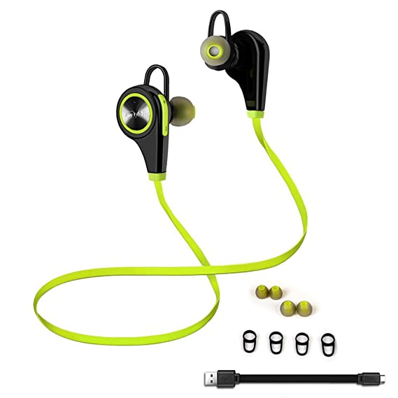Amazon com: Emixc Wireless Sweat proof Bluetooth Noise