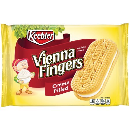Keebler Vienna Fingers, 14.2 oz Package (Pack of 6)