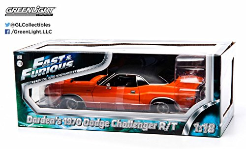 GreenLight 1:18 1970 Dodge Challenger from 2Fast 2Furious (2003) (Challenger Dodge 1 18 compare prices)