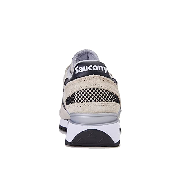 SAUCONY Shadow Original sneakers lacci PELLE CEMENT BEIGE S1108 670 inverno 2018