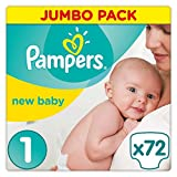 Pampers Premium Protection New Baby Windeln, Halbm…