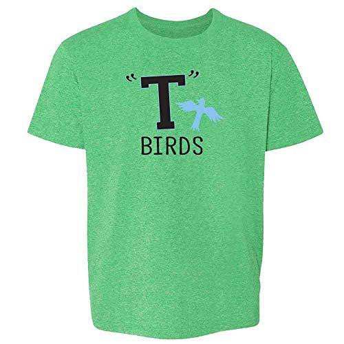 T Birds Gang Logo Costume Retro 50s 60s Heather Irish Green 3T Toddler Kids T-Shirt]()