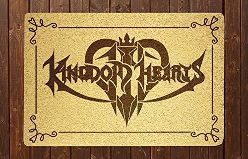 NESTstudio Kingdom Hearts Doormat Sweet Home Supplies Décor Accessories Unique Gift Handmade Present Idea Original Design Commercial Outside Inside Personalized Quotes Exterior
