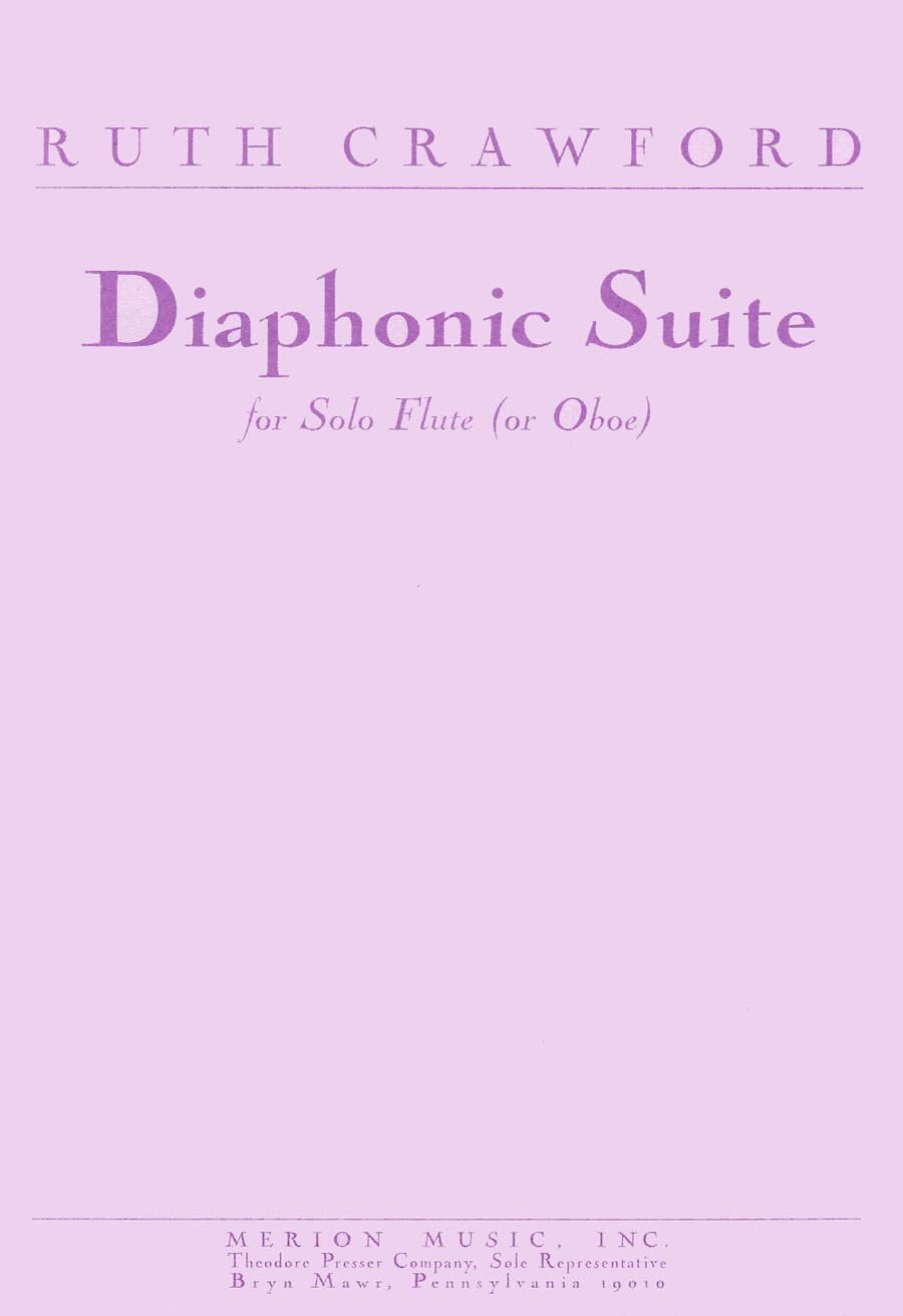 Diaphonic Suite for Solor Flute or Oboe