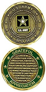 U.S. Army Spouse Challenge Coin by Eagle Crest by Eagle Crest