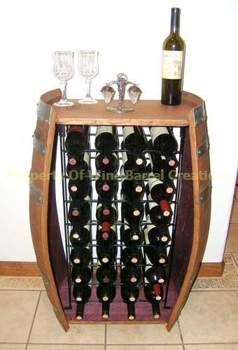 Rack Will Hold 32 Wine Bottles