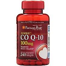 Puritan's Pride Q-SORB Co Q-10 100 mg-240 Rapid Release Softgels