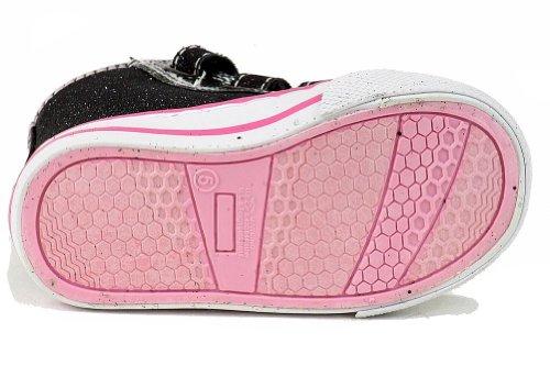 Hello Kitty Småbarn Flickor Hk Lil Lilith Ar2110 Mode Sneaker Skor Svart