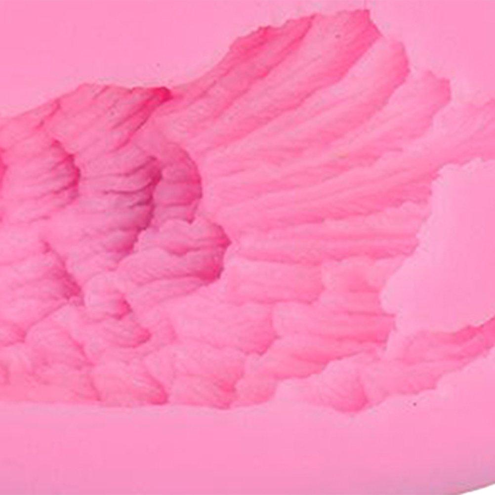 Rosa BESTONZON Stampo in silicone fondente Stampo 3D a forma di cigno Stampi in terracotta per torta al cioccolato e sapone al cioccolato