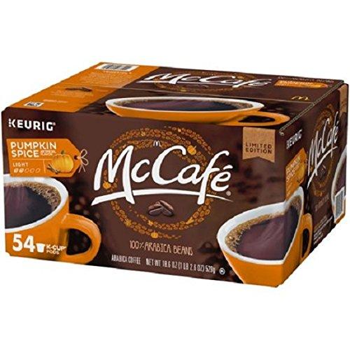 McCafe Pumpkin Spice Coffee K-Cups (18.6oz, 54 ct.) - Pumpkin Pod