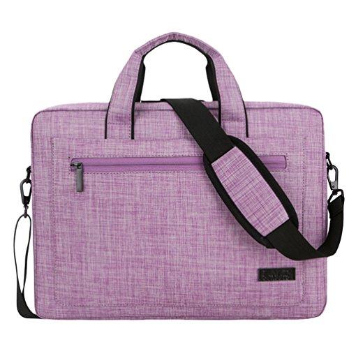 Purple Computer Laptop Office Messenger For Men Resistant Sunwanyi Bag Women 3 Travel Shoulder PdBwBqt