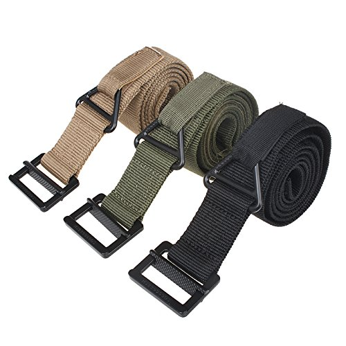ACELIST Etrance Heavy Duty Military Equipment Tactical Belt Teflon for Outdoor Security Adjustable and Comfortable
