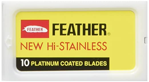 84 opinioni per Feather- Lame a doppio filo in acciaio per rasoio di sicurezza, confezione da 30