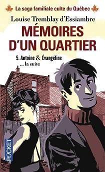 Mémoires d'un quartier, Tome 5 : Adrien par Tremblay-d'Essiambre