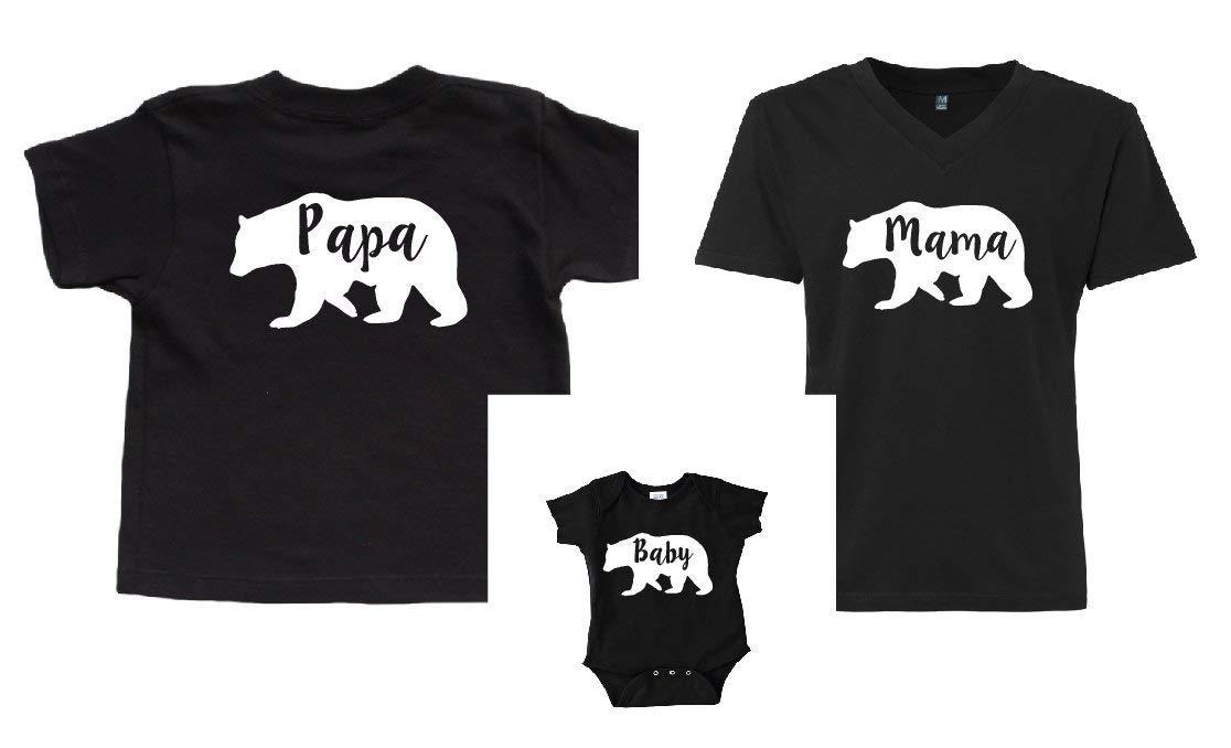 Family Bear Shirts Christmas Shirts Mama Bear Papa Bear Baby Bear Matching Mothers Day Gift