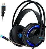 51Em1Quz2RL. SL160  - PC IOS MOBILE PHONE PS4 Xbox One PSP Over Ear Games Headphone Headset with Mic