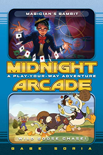 Magician's Gambit/Wild Goose Chase!: A Play-Your-Way Adventure (Midnight Arcade)