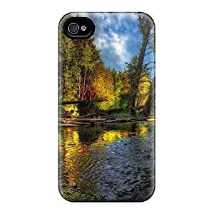 Fashion Hard For SamSung Galaxy S5 Case Cover - Forest Stream Hdr