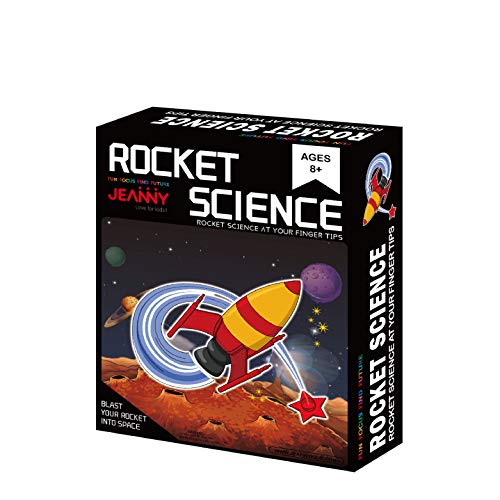 Toy Rocket Launcher Educational Experiment DIY Space Children Rocket Science STEM Smart Games for Boys and Girls 8 Years…