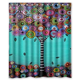 Amazon Com Seasidess Mexican Style Tree Flower Floral