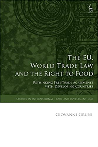 The Eu World Trade Law And The Right To Food Rethinking Free Trade