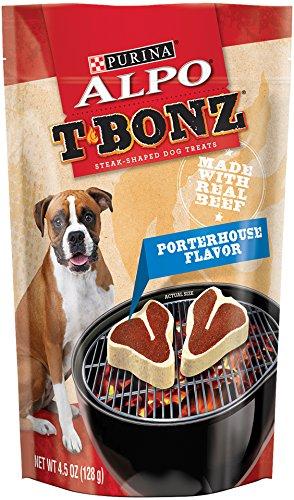 Purina ALPO T-Bonz Brand Dog Treats, Porterhouse Flavor, Ste