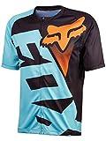 Fox Racing Livewire Short-Sleeve Jersey - Men's Aqua, XL