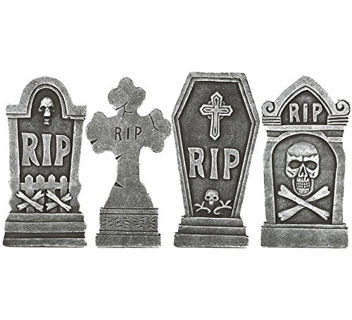(Viving Costumes Set of Tombstones, 42 x 6.5 x 21.5)