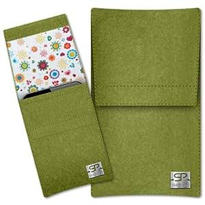 SIMON PIKE Cáscara Funda de móvil Sidney 9 verde Xiaomi MI3 M3 Fieltro de lana