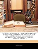 Psychologie Naturelle, Prosper Despine, 1144545285