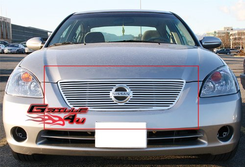 APS N95406A Polished Grille Replacement for select Nissan Altima ()