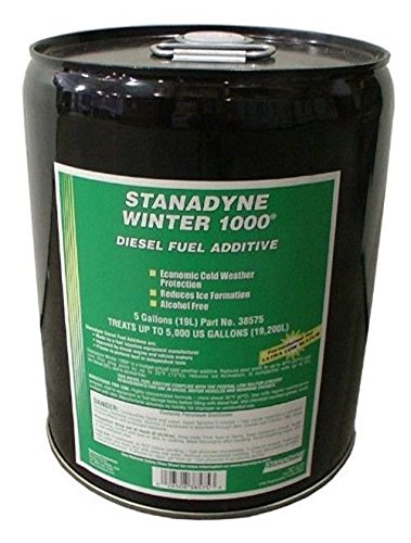 Stanadyne Winter 1000 5 Gallon Pail Treats 5,000 gallons diesel fuel per Pail by Stanadyne