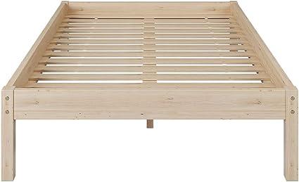 Somier de láminas de madera para cama doble, somier de 140 x ...