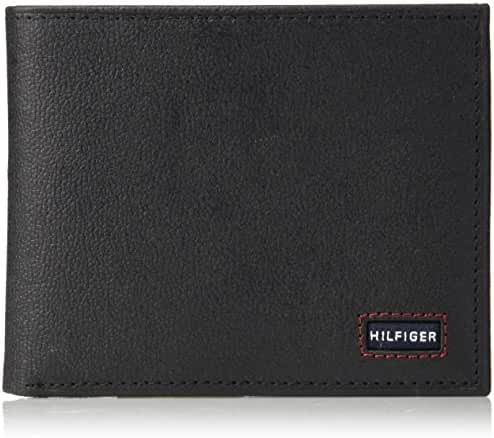 Tommy Hilfiger Men's Wallet with Fixed Passcase