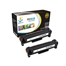 Catch Supplies Replacement CF380A Black Toner Cartridge 2 Pack for the HP 312A series |2,400 yield| compatible with the HP Color LaserJet Pro MFP M476nw, M476dn, M476dw printer models.