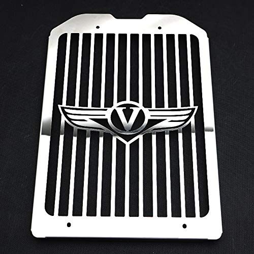 Star-Trade-Inc - VN 1500 1600 Motorcycle Chrome Radiator Grill Guard Cover Protector For Kawasaki Vulcan VN1500 VN1600 Mean Streak 2002-2008