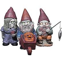 THUMBS UP Thumbsup UK, Mini Zombie Gnomes, Set of 3
