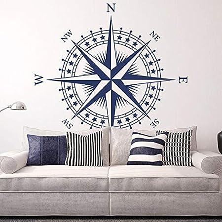 wukongsun Cartel de Arte Pegatinas de Pared de Vinilo náutica Rosa ...