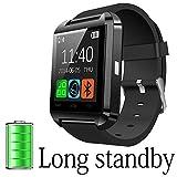 DOESIT Bluetooth Smart Watch for Android Smartphones Samsung Galaxy Note,Nexus,htc,Sony (U8 Smart Watch)