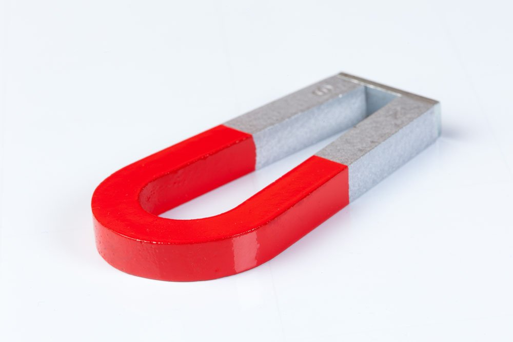 Scribble Traditional Alnico Horseshoe Shaped Magnet with Keeper 3 Size