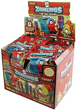 Magic Box MBX003145- Zomlings Serie 1, display de 50 sobres (importado): Amazon.es: Juguetes y juegos