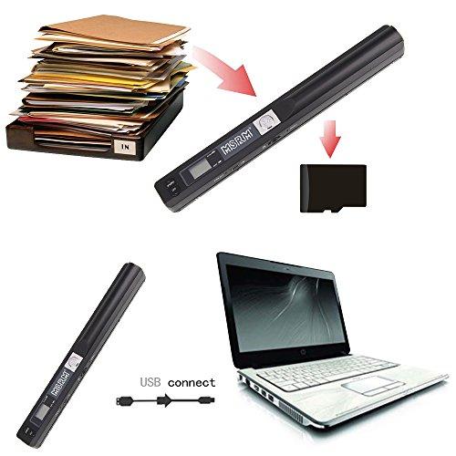 msrm iscan wand portable document image scanner usb. Black Bedroom Furniture Sets. Home Design Ideas