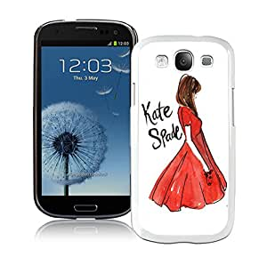 Personalized Design Customize Samsung S3 Protective Case Kate Spade New York Hardshell Case for Samsung Galaxy S3 i9300 Cover 141 White