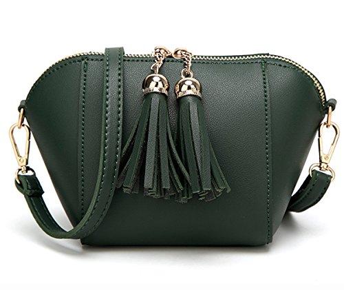 Tendances 4 à gzaspunb17 Mme vert Black de 3 HopeEye sac Cuir Pu bandoulière mode la Femmes z5xq6